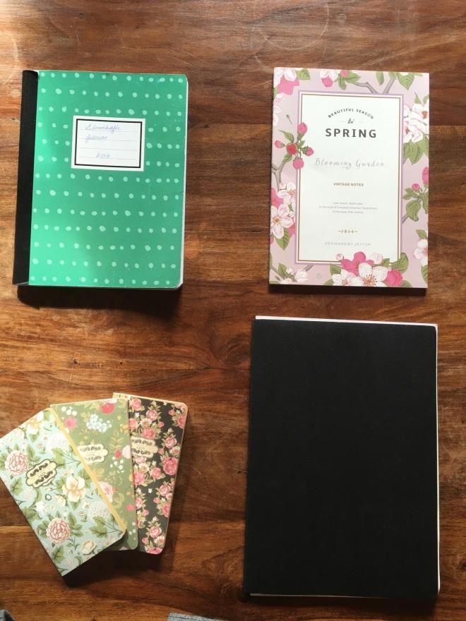 Jeg kan snakke om notesbøger hele dagen.
