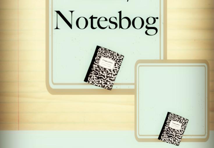 Skrivemærke: Start/notesbog