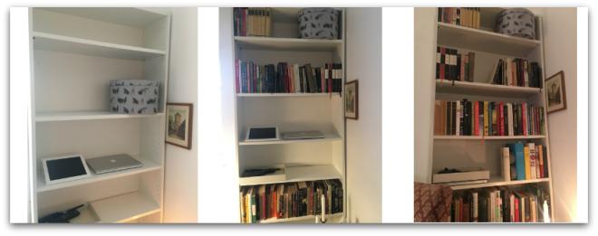 Fra tom til sorteret bogreol