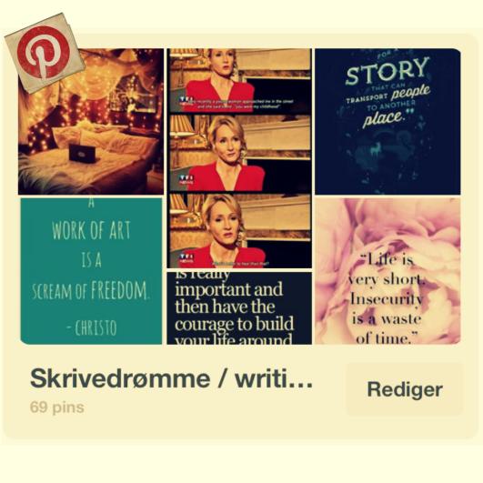 opslagstavle for mine skrivedrømme